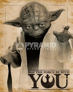 plakat STAR WARS - YODA