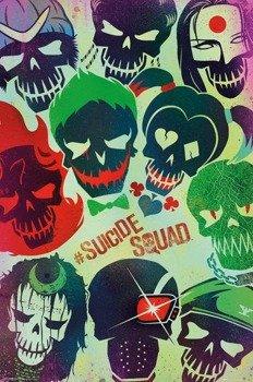 plakat SUICIDE SQUAD - FACES