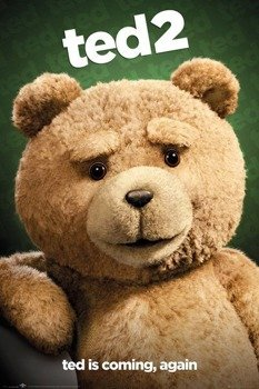 plakat TED 2 - CLOSE UP