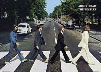 plakat THE BEATLES - ABBEY ROAD