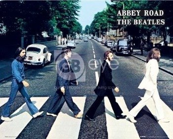 plakat THE BEATLES - ABBEY ROAD