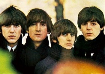 plakat THE BEATLES - FOR SALES