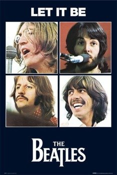 plakat THE BEATLES - LET IT BE