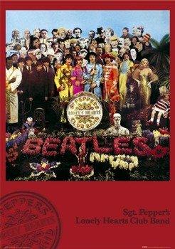 plakat THE BEATLES - SGT. PEPPER'S