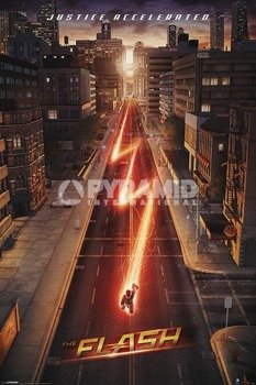 plakat THE FLASH - LIGHTNING