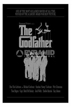 plakat THE GODFATHER - THE CORLEONE FAMILY