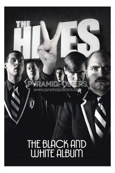 plakat THE HIVES - BLACK & WHITE
