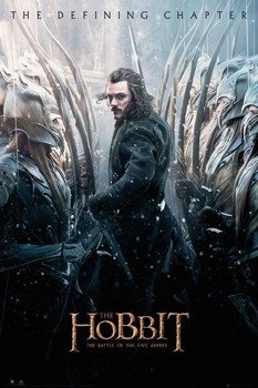 plakat THE HOBBIT - BATTLE OF FIVE ARMIES BARD