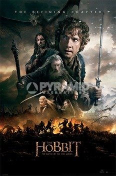 plakat THE HOBBIT - BOTFA