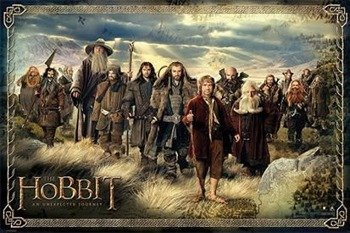 plakat THE HOBBIT - THE COMPANY