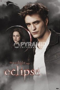plakat TWILIGHT - ZMIERZCH (EDWARD AND BELLA MOON)