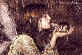 plakat VICTORIA FRANCES - RAT KISSER