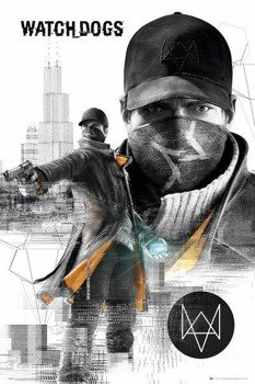 plakat WATCH DOGS - CITY