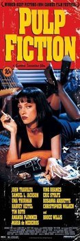plakat na drzwi PULP FICTION - COVER