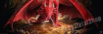 plakat panoramiczny ANNE STOKES - DRAGONS LAIR
