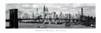 plakat panoramiczny BROOKLYN BRIDGE - NEW YORK