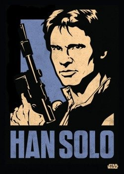 plakat z metalu STAR WARS - HANS SOLO