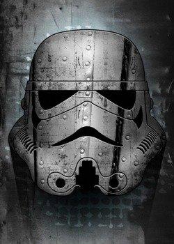 plakat z metalu STAR WARS - IRONTROOPER