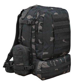 plecak taktyczny US COOPER 3 DAY - DARKCAMO, 50 litrów
