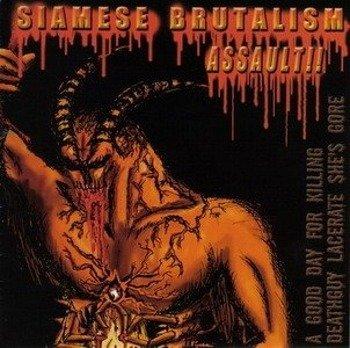 płyta CD: A GOOD DAY FOR KILLING - SIAMESE BRUTALISM ASSAULT!!