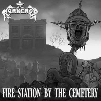 płyta CD: BOMBEROS / INBREEDING SICK - FIRE STATION BY THE CEMETERY / THE IMPALER (split CD)