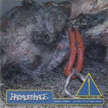 płyta CD: HAEMORRHAGE - SCALPEL, SCISSORS AND OTHER FORENSIC INSTRUMENTS