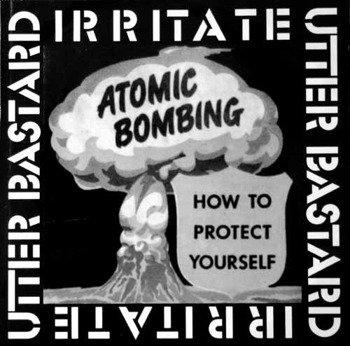 płyta CD: IRRITATE / UTTER BASTARD - SPLIT CD