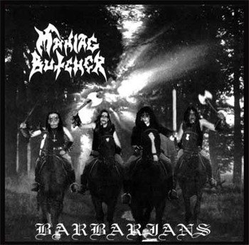 płyta CD: MANIAC BUTCHER - BARBARIANS