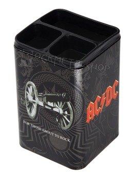 pojemnik na przybory szkolne AC/DC - BLACK ICE
