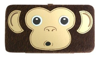 portfel FREAKS AND FRIENDS - FURRY MONKEY FACE HINGE
