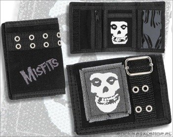 portfel MISFITS - BUCKLE CANVAS WALLET