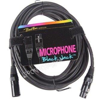 przewód mikrofonowy BOSTON: XLR męski -  XLR żeński / 10m