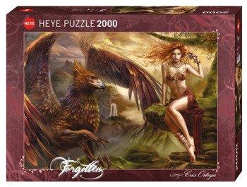 puzzle CRIS ORTEGA - RUDA PIĘKNOŚĆ 2000 szt.