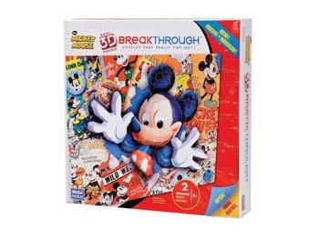 puzzle DISNEY - 3D MINNIE MOUSE 200 szt  wiek 8+