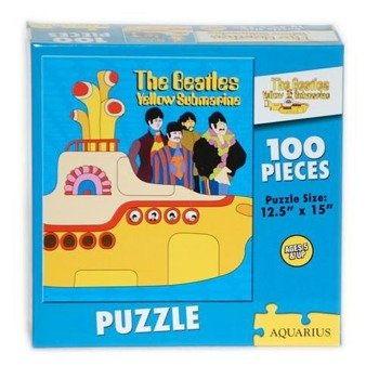 puzzle THE BEATLES - YELLOW SUBMARINE 100szt. (NMR71005)