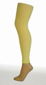 rajstopy blado żółty 3D FOOTLESS