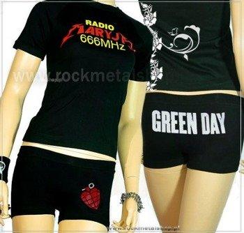 spodenki krótkie damskie GREEN DAY