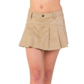 spódniczka BASIC MINI DENIM beige