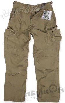 spodnie bojówki BDU NYCO RIPSTOP COYOTE