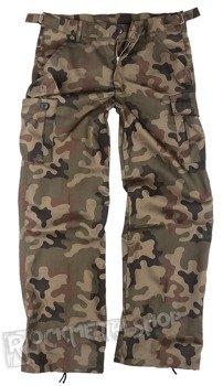 spodnie bojówki CARGO WOODLAND