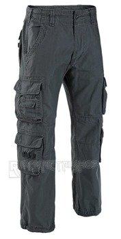 spodnie bojówki PURE VINTAGE Anthracite