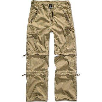 spodnie bojówki SAVANNAH RTROUSER CAMEL, odpinane