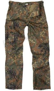 spodnie bojówki US RANGER HOSE TYP BDU FLECKTARN