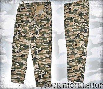 spodnie bojówki WOODLAND