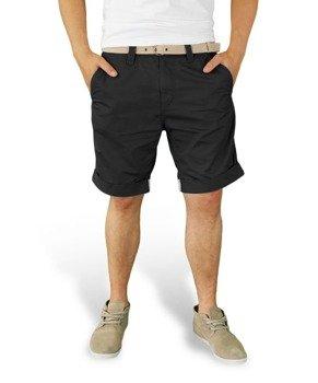 spodnie krótkie XYLONTUM CHINO SHORTS BLACK