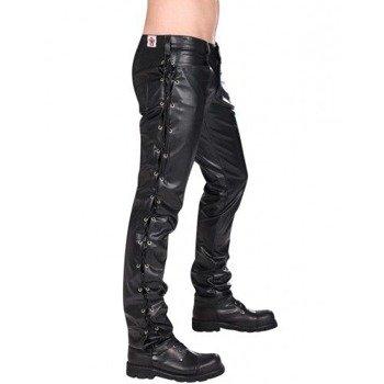 spodnie unisex BUTTON HIPSTER SKY BLACK