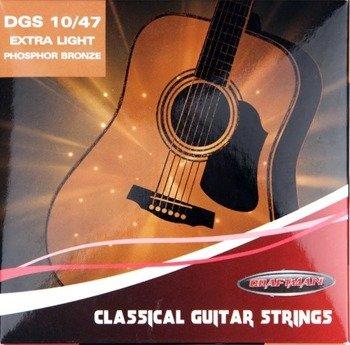 struny do gitary akustycznej CRAFTMAN PHOSPHOR BRONZE DGS /010-047/