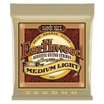 struny do gitary akustycznej ERNIE BALL Earthwood 80/20 Bronze EB2003 /012-054/