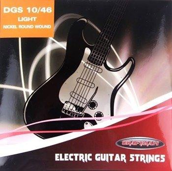 struny do gitary elektrycznej CRAFTMAN NICKEL WOUND DGS /010-046/
