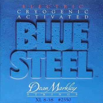 struny do gitary elektrycznej DEAN MARKLEY 2550 BLUE STEEL Extra Light /008-038/